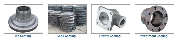 Customized aluminium die cast parts for lighting