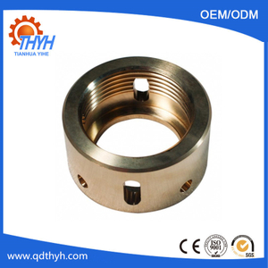 OEM Brass CNC Turning Machine Parts For Customized Machinery Parts