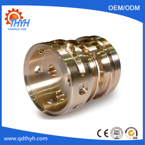 OEM Brass CNC Turning Machine Parts For Customized Machinery Industry
